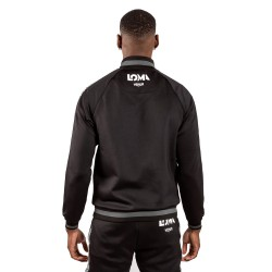 Venum Arrow Loma Edition Trainingsjacke schwarz weiss