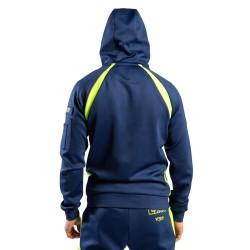 Venum Loma Edition Origins Zip Hoodie blau gelb