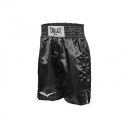 Everlast Pro Boxing Trunks Black Black 4413