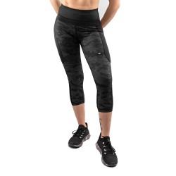 Venum Defender Crop Leggings schwarz schwarz