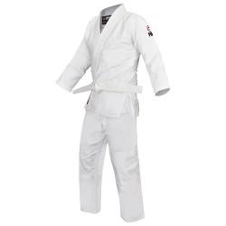 Fuji Sports Single Weave Judo Gi White Kids