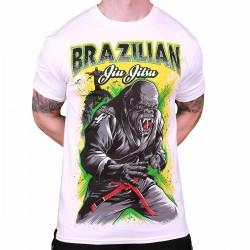 Abverkauf Justyfight BJJ Gorilla T-Shirt