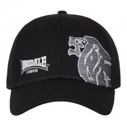 Lonsdale Radley Cap Black Grey