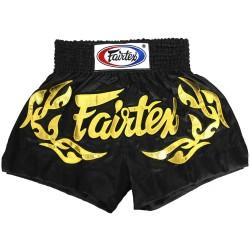 Fairtex Thai Fightshorts Schwarz BS0646