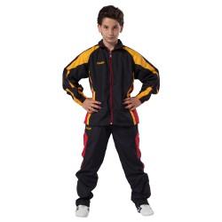 Kwon Performance Micro Trainingsanzug Schwarz Rot Gelb Kids
