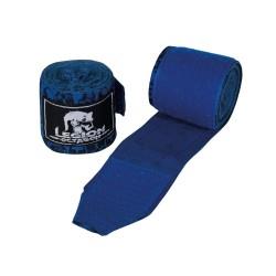 Legion Octagon Skull Boxbandagen 3.50m unelastisch blau
