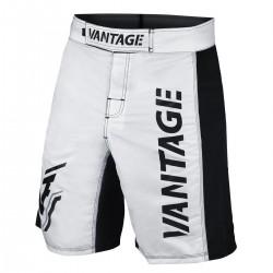 Vantage Combat Team Fightshorts White