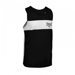 Everlast Competition Contrast Boxing Top Black White 4424A