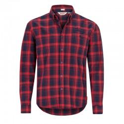 Lonsdale Thainstone Herren Slim Fit Shirt LS