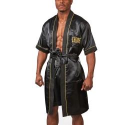 Leone 1947 Boxerrobe schwarz