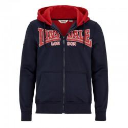 Lonsdale Spital Neopren Herren Zip Sweater