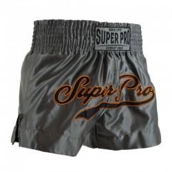 Super Pro Challenger Thai Short Grey Orange Black