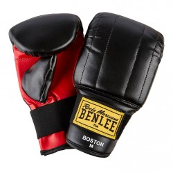 Benlee Art Leather Bag Mitts Black Red
