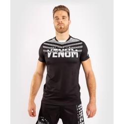 Venum Signature Dry Tech T-Shirt schwarz weiss