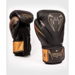 Venum Impact Boxhandschuhe Black Bronze