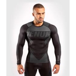 Venum One FC Impact Rashguard LS Black Black