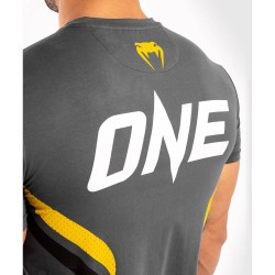 Venum One FC Impact T-Shirt Grey Yellow