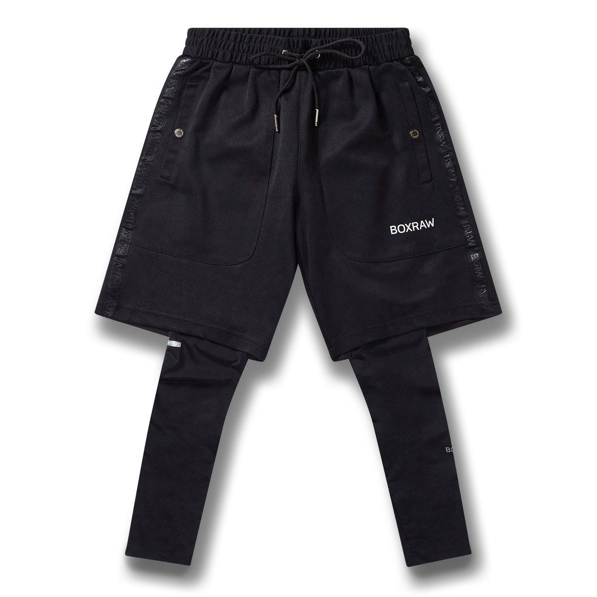 BOXRAW PEP Shorts Schwarz
