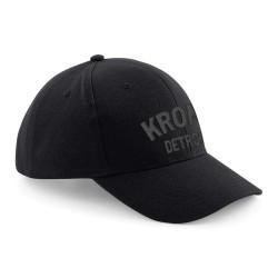 Kronk Detroit Basecap Black Charcoal