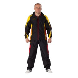 Kwon Performance Micro Trainingsanzug Schwarz Rot Gelb