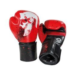 Legion Octagon Boxhandschuhe rot