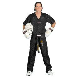 Top Ten Mesh Kickboxhose Schwarz Schwarz