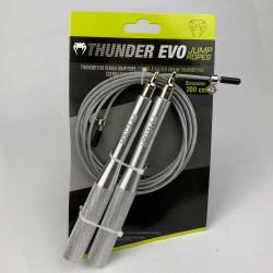 Venum Thunder EVO Jump Rope Silver