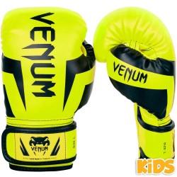 Venum Elite Boxhandschuhe Kids Fluo Yellow