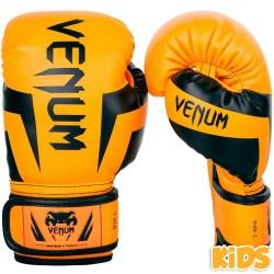 Venum Elite Boxhandschuhe Kids Fluo Orange