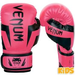 Venum Elite Boxhandschuhe Kids Fluo Pink