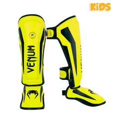 Venum Elite Schienbeinschoner Kids Neo Yellow