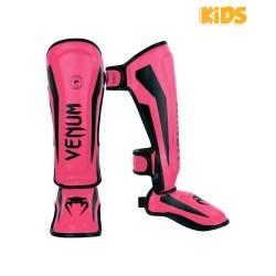 Venum Elite Schienbeinschoner Kids Neo Pink