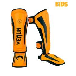 Venum Elite Schienbeinschoner Kids Neo Orange
