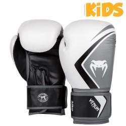 Venum Contender 2.0 Boxhandschuhe Kids White Grey