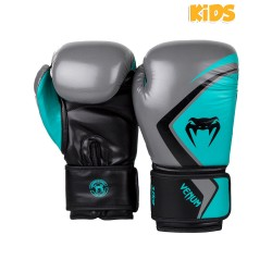 Venum Contender 2.0 Boxhandschuhe Kids Grey Turquoise Black