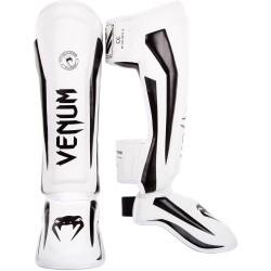 Venum Elite Standup Schienbeinschoner White Black