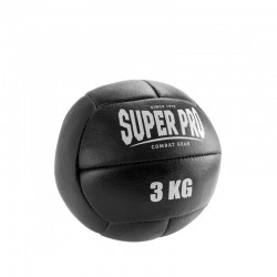 Super Pro Medizinball Leder 3Kg
