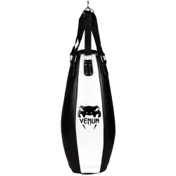 Venum Tear Drop Bag Black Ice 95cm gefüllt