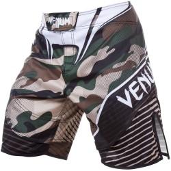Venum Camo Hero Fightshorts Green Brown