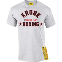 Kronk Boxing Training Camp T-Shirt Ash Grey