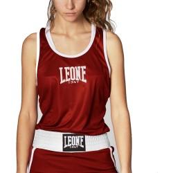 Leone 1947 Boxhemd Frauen Match rot