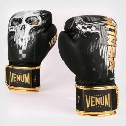 Venum Skull Boxhandschuhe Black