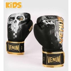 Venum Skull Boxhandschuhe Black Kids