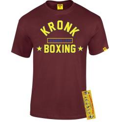 Kronk Boxing Training Camp T-Shirt Maroon
