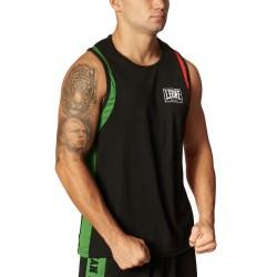 Leone 1947 Boxerhemd Italia schwarz