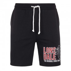 Lonsdale Didcot Herren Jersey Short Black