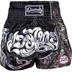 8Weapons Silver Dragon Muay Thai Short