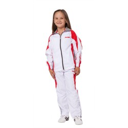 Kwon Performance Micro Trainingsanzug Weiss Rot Grau Kids
