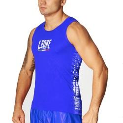 Leone 1947 Boxerhemd blau