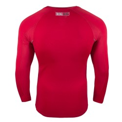 Abverkauf Bad Boy X Train Compression T-Shirt LS Red